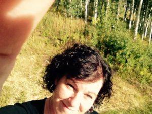 janet selfie